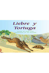 Rigby PM Coleccion  Individual Student Edition morado (purple) Liebre y Tortuga (The Hare and the Tortoise)-9780757882289
