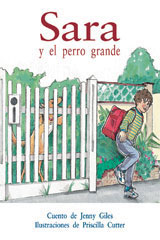 Rigby PM Coleccion  Individual Student Edition anaranjado (orange) Sara y el perro grande (Sarah and the Barking Dog)-9780757882616