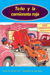 Rigby PM Coleccion  Individual Student Edition anaranjado (orange) Toño y la camioneta roja (Toby and the Big Red Van)-9780757882647