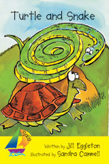 Rigby Sails Early  Leveled Reader 6pk Yellow Turtle And Snake-9780757887673