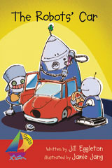 Rigby Sails Early  Leveled Reader 6pk Red The Robot's Car-9780757888700