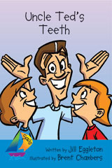 Rigby Sails Early  Leveled Reader 6pk Blue Uncle Ted's Teeth-9780757893322