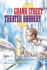 Rigby PM Plus Extension  Individual Student Edition Emerald (Levels 25-26) The Grand Street Theater Robbery-9780757893612
