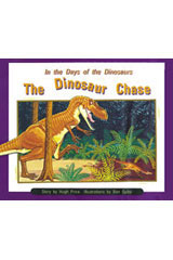 Rigby PM Collection  Individual Student Edition Orange (Levels 15-16) In the Days of Dinosaurs: The Dinosaur Chase-9780763519506