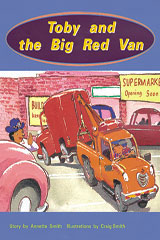 Rigby PM Collection  Individual Student Edition Orange (Levels 15-16) Toby and the Big Red Van-9780763519612