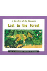 Rigby PM Collection  Individual Student Edition Orange (Levels 15-16) In the Days of Dinosaurs: Lost in the Forest-9780763519643