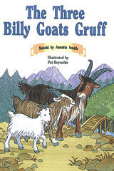 Rigby PM Collection  Individual Student Edition Orange (Levels 15-16) The Three Billy Goats Gruff-9780763519711