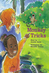 Rigby PM Collection  Individual Student Edition Turquoise (Levels 17-18) Monkey Tricks-9780763519827
