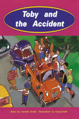 Rigby PM Collection  Individual Student Edition Turquoise (Levels 17-18) Toby and the Accident-9780763519865