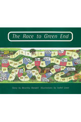 Rigby PM Collection  Individual Student Edition Turquoise (Levels 17-18) The Race To Green End-9780763519988