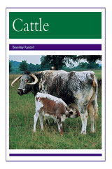 Rigby PM Collection  Individual Student Edition Purple (Levels 19-20) Animals - Cattle-9780763528072