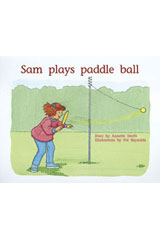 Rigby PM Plus  Leveled Reader 6pk Blue (Levels 9-11) Sam Plays Paddle Ball-9780763538149