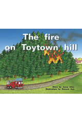 Rigby PM Plus  Leveled Reader 6pk Blue (Levels 9-11) The Fire on Toytown Hill-9780763538194