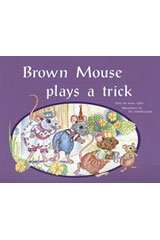 Rigby PM Plus  Leveled Reader 6pk Blue (Levels 9-11) Brown Mouse Plays a Trick-9780763538200