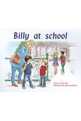 Rigby PM Plus  Leveled Reader 6pk Blue (Levels 9-11) Billy At School-9780763538224