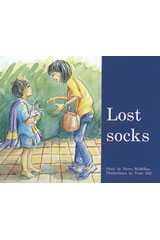 Rigby PM Plus  Leveled Reader 6pk Blue (Levels 9-11) Lost Socks-9780763538255