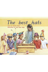Rigby PM Plus  Leveled Reader 6pk Blue (Levels 9-11) The Best Hats-9780763538378