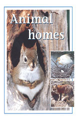 Rigby PM Plus  Leveled Reader 6pk Blue (Levels 9-11) Animal Homes-9780763538439