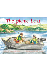 Rigby PM Plus  Leveled Reader 6pk Green (Levels 12-14) The Picnic Boat-9780763538538