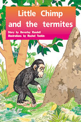 Rigby PM Plus  Leveled Reader 6pk Green (Levels 12-14) Little Chimp and the Termites-9780763538620