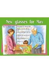 Rigby PM Plus  Leveled Reader 6pk Green (Levels 12-14) New Glasses for Max-9780763538651