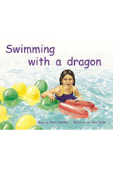 Rigby PM Plus  Leveled Reader 6pk Green (Levels 12-14) Swimming With a Dragon-9780763538729