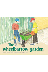 Rigby PM Plus  Leveled Reader 6pk Green (Levels 12-14) The Wheelbarrow Garden-9780763538736