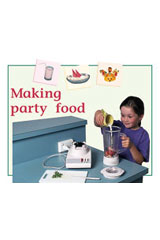 Rigby PM Plus  Leveled Reader 6pk Green (Levels 12-14) Making Party Food-9780763538835