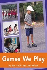 Rigby PM Plus  Leveled Reader 6pk Orange (Levels 15-16) Games We Play-9780763539115