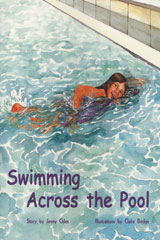 Rigby PM Plus  Leveled Reader 6pk Turquoise (Levels 17-18) Swimming Across the Pool-9780763543594