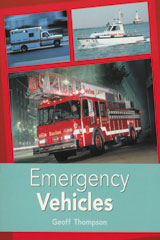 Rigby PM Plus  Leveled Reader 6pk Turquoise (Levels 17-18) Emergency Vehicles-9780763543761