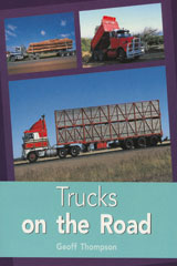 Rigby PM Plus  Leveled Reader 6pk Turquoise (Levels 17-18) Trucks on the Road-9780763543792