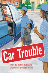 Rigby PM Collection  Individual Student Edition Gold (Levels 21-22) Car Trouble-9780763557522