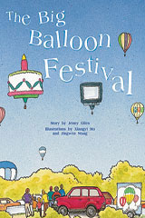 Rigby PM Collection  Individual Student Edition Gold (Levels 21-22) The Big Balloon Festival-9780763557539