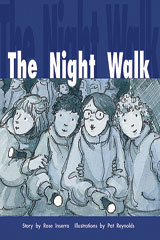Rigby PM Collection  Individual Student Edition Gold (Levels 21-22) The Night Walk-9780763557591