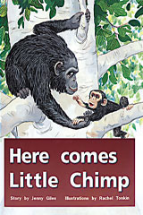 Rigby PM Plus  Individual Student Edition Red (Levels 3-5) Here Comes Little Chimp-9780763559694