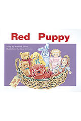 Rigby PM Plus  Individual Student Edition Red (Levels 3-5) The Red Puppy-9780763559847