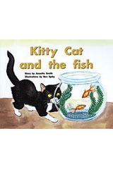 Rigby PM Plus  Individual Student Edition Red (Levels 3-5) Kitty Cat and the Fish-9780763559861