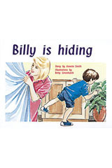 Rigby PM Plus  Individual Student Edition Red (Levels 3-5) Billy Is Hiding-9780763559922