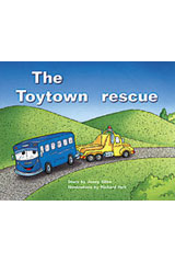 Rigby PM Plus  Individual Student Edition Red (Levels 3-5) The Toytown Rescue-9780763559946