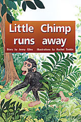 Rigby PM Plus  Individual Student Edition Yellow (Levels 6-8) Little Chimp Runs Away-9780763560034