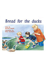 Rigby PM Plus  Individual Student Edition Yellow (Levels 6-8) Bread For the Ducks-9780763560096