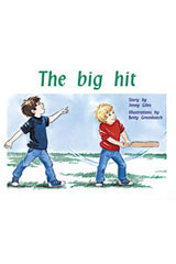 Rigby PM Plus  Individual Student Edition Yellow (Levels 6-8) The Big Hit-9780763560119