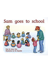 Rigby PM Plus  Individual Student Edition Yellow (Levels 6-8) Sam Goes To School-9780763560126