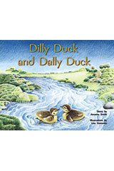 Rigby PM Plus  Individual Student Edition Yellow (Levels 6-8) Dilly Duck and Dally Duck-9780763560188