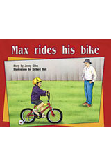 Rigby PM Plus  Individual Student Edition Yellow (Levels 6-8) Max Rides His Bike-9780763560256