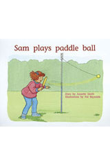 Rigby PM Plus  Individual Student Edition Blue (Levels 9-11) Sam Plays Paddle Ball-9780763572891