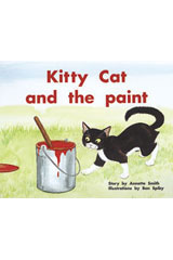 Rigby PM Plus  Individual Student Edition Blue (Levels 9-11) Kitty Cat and the Paint-9780763572914