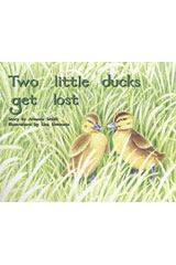 Rigby PM Plus  Individual Student Edition Blue (Levels 9-11) Two Little Ducks Get Lost-9780763573010