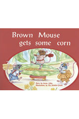 Rigby PM Plus  Individual Student Edition Blue (Levels 9-11) Brown Mouse Gets Some Corn-9780763573034